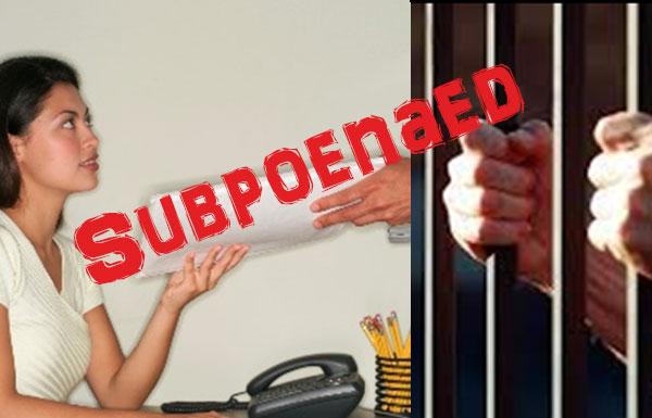 "The F.H. B.s in My Life #27…""Subpoenaed"""