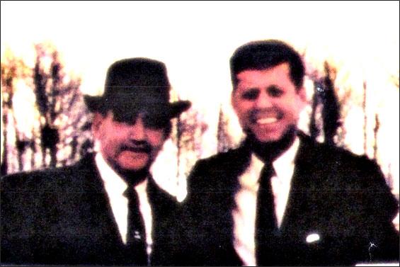 Forrest Glen Taylor and John Fitzgerald Kennedy November 1959
